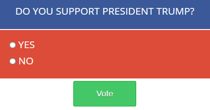 Do you support President Trump?